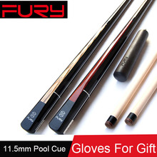 2016 New Maple Billiard Pool Cues Stick 11.5mm Tips Queue De Billard Taco De Sinuca Rengas /Ash Butt Two Options China