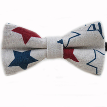 New Release Cute Baby Bow tie Boys Girls Bowtie Kids Bow Ties Cotton Linen Butterfly Tie Pyramid /Sailboat /Flower /Star Bowties(China)