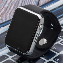 A1 Smart Watch For Android Samsung iPhone GSM Watch Phone Touch Screen Bluetooth Wrist Wearable Watch(China)