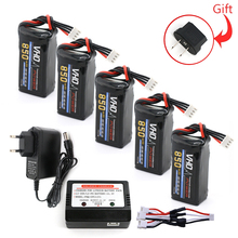 Buy VHO 5PCS 3s lipo battery 11.1V 850mah 30C charger Quadcopters Helicopters RC Cars Boats High Rate batteria lipo car part for $52.94 in AliExpress store