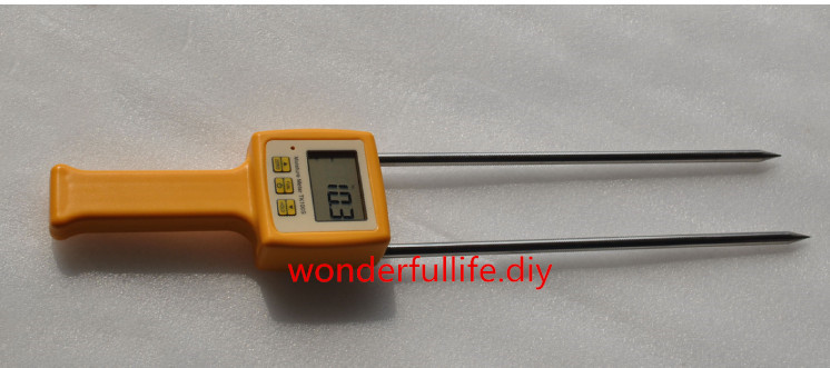3 Pcs/Lot Corn,wheat,rice,bean,wheat flour tester 4 Digital LCD Grain moisture meter   range:5-35% hygrometer<br>