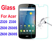 Tempered Glass Film for Acer Liquid Z320 Z330 Z520 Z530 Z530S Z630 Z630S 9H Premium Explosion-proof Screen Film(China)