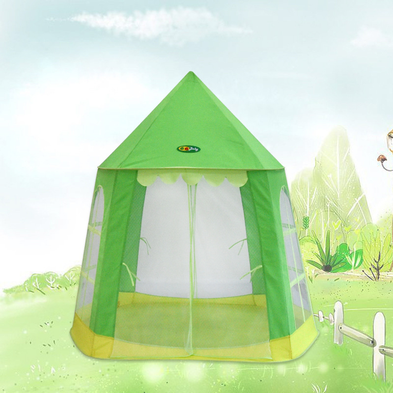 Portable Kids Children Pop Up Play Tents Girl Princess Castle Indoor Outdoor Play Tents Play House<br><br>Aliexpress
