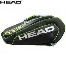 54cab2c5fa6 2018 Head Limited Edition Backpack Tennis Bag L5 Speed Bags For 6 Pieces  Alexander Zverev edition sport bag Raquete De Tenis-in Tennis Accessories  from ...