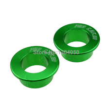 GREEN CNC Rear Wheel Hub Spacer For Kawasaki KX125 KX250 03-08 KXF250 04-14 KXF450 KLX450R Motocross Supermotard Dirt Motorcycle
