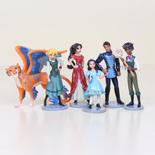 2 styles 6pcs/set Elena of Avalor PVC Action Figures Prince Doll Figure Kids Toys for Boys Girls Gift(China)
