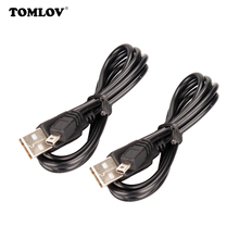2 x USB charging cable for Tcom 1000m TOM-SC FDC Motorcycle Bluetooth headset(China)