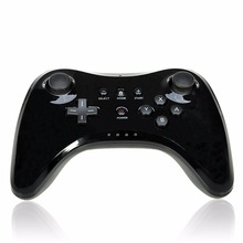 Classic Dual Analog Bluetooth Wireless Gamepad USB U Pro Game Gaming Remote Controller for Nintendo for Wiiu(China)