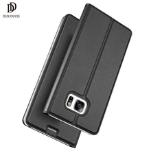 "Leather Flip Case For Coque Samsung Galaxy S7 Edge Case Skin Book Cover For Samsung S7 Edge Case Luxury S7 edge Phone Cover 5.5""(China)"