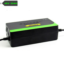 New 48V Smart Auto Charger Power Supply E-Bike Scooter Charger 20AH 220V 50Hz For Rechargeable lead acid battery