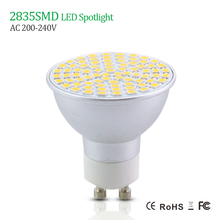 Dimmable GU10 3W 5W 7W LED Spot Light SMD2835 AC220V 230V 240V Aluminum alloy LED Bulb Lamp Energy Saving Spotlight Home Lights(China)
