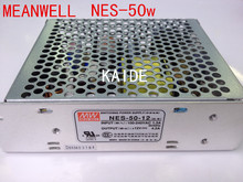 TAIWAN MEANWELL 50w switching power supply transformer NES-50 12v 24v 48v high quality power supply