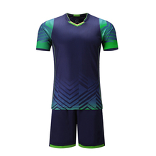 New design Soccer training suit football uniform jersey & shorts men tracksuit Running fitness Sportswear