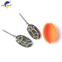 Carp fishing feeder tool inline method feeder with mould carp lead sinker free lead 20g 30g 40g 50g