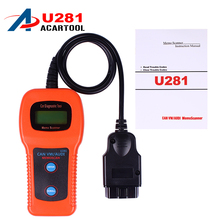 New U281 Airbag Auto Car Care Memoscanner automobile Diagnostic Tool Engine Code Reader scan tool for audi hot selling(China)