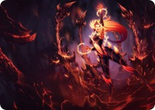 Wildfire Zyra mouse pad lol pad mouse League laptop mousepad hot sales gaming padmouse gamer of Legends keyboard mouse mats(China)