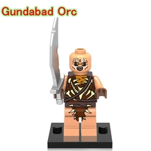 Gundabad Orc DIY blocks Single Sale The Lord Of The Rings Battle Of Five Armies Models & Building Toys Block For Children XH478