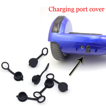 "2PCS Electric Giroskuter Gyroscooter Overboard Charging Port Cover For Self-Balancing Board Electric Scooter 6.5""/8""/10"""