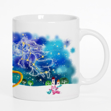 New Zodiac Ceramic Coffee Mug White Color Or Color Changed Cup Virgo---Loveful