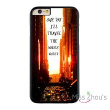 For iphone 4/4s 5/5s 5c SE 6/6s plus ipod touch 4/5/6 back skins mobile cellphone cases cover Travel The World New York City