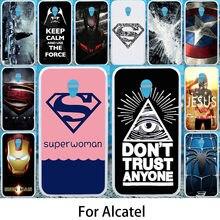 Akabeila Phone Case For Alcatel U5 Cases U5 HD U3 C5 C7 A7 A3 A2 XL GO Play Cases Silicone Soft Painted Covers For Alcatel U5 HD(China)