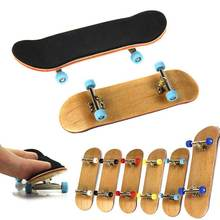 PU Maple Wood Cute Party Favor Kids Children Mini Finger Board Fingerboard Skate Boarding Toys M09(China (Mainland))