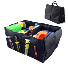 1Pc Oxford Fabric Multipurpose Folding Car Organizer Trunk Organizer Cargo Storage Container Great for Travelling Camping