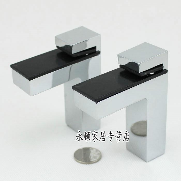 2pcs/lot Big Size Zinc Alloy Adjustable Glass Shelf or Wood Shelf Bracket ,Shinning Color CP53<br><br>Aliexpress