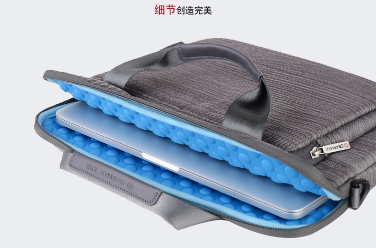 fundas portatil 13.3 pulgadas Waterproof Denim Laptop Bag 13 Large Space Mens Laptop Briefcase+Free Gift Keyboard Cover Case<br><br>Aliexpress