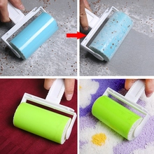 Washable Sticky Hair/Clothes/Buddy For Wool Dust Catcher Carpet Sheets Sucking Sticky Dust Drum Lint Rollers(China)