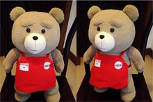 45cm ted plush toy, life size teddy bear, ted plush bear ted, plush ted moive, big teddy bear stuffed animal doll pillow