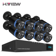 Buy H.View 16CH Surveillance System 8 1080P Outdoor Security Camera 16CH CCTV DVR Kit Video Surveillance iPhone Android Remote View for $305.99 in AliExpress store