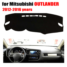 Car dashboard Covers mat For Mitsubishi OUTLANDER 2012-2016 years left hand drive custom dashmat car dash pad auto accessories(China)