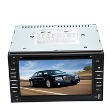 "KKmoon 6"" 2 Din Car DVD USB SD Player GPS Navigation Bluetooth Radio Multimedia HD Entertainment System for Car(China)"