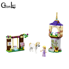 GonLeI lele 37000 Princess Building Block Rapunzel's Best Day Ever Building Bricks Girl Compatible with lepin 41065 Toys