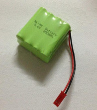Free shipping 1pcs 9.6v AAA 800mAh NI-MH battery Rechargeable battery pack(China)