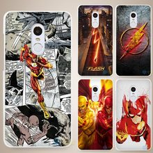 Flash Man Superhero Hard White Cell Phone Case Cover for Xiaomi Mi Redmi Note 3 3S 4 4A 4C 4S 5 5S 5C 4X 6 Pro