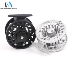 Maximumcatch Fly Fishing Reel 3/4WT Aluminum Frame And Spool Right or Left Hand Can Be Changed Die Casting Fly Reel