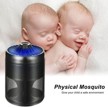 Mosquito Killer Lamp Removable Photocatalyst Safety Energy Saving Rechargeable For Home Office Outdoor Camping(China)