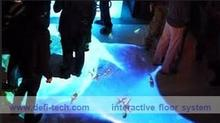 DEFI copyright Interactive floor Projection system for wedding, advertising, kids 130 different  effects