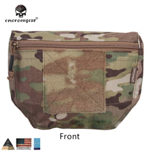 Emersongear Armor Carrier Drop Pouch AVS JPC CPC Army Pouch Camouflage Wargame Equipment MOLLE EM9283 Multicam Range Green Black