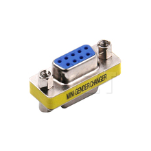 1pcs Newest DB9 serial port adapter connector conversion head VGA 9 hole on the connector RS232(China)