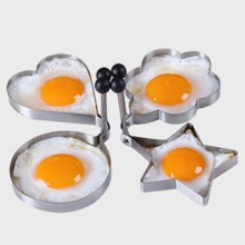 5 Shapes Can Choose Omelette Mould Device Egg Pancake Ring Egg Mold Kitchen Gadgets Stainless Steel Form For Frying Eggs Tools(China)