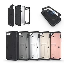 Military Tanks Armour PC + TPU Hybrid Armor Stents Shockproof Case Cover For iPhone 5 5s Waterproof Anti-knock Shell Cases(China)
