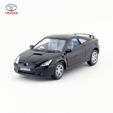 KINSMART Die Cast Metal Model/1:34 Scale/Toyota Celica toy/Pull Back Car for children's gift or for collection/Gift(China)