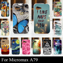 For Micromax A79 A 79 Mobile Phone Cover Case High Quality Transpatent Soft Silicone tpu Color Paint Painting Case