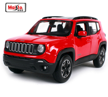 Maisto 1:24 2015 Jeep Renegade City SUV JEEP Cross Country Car Diecast Model Car Toy For Kids Gifts New In Box Free Shipping(China)