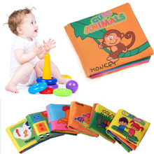 Pudcoco Newborn Readings Baby Kids Educational Soft Cloth Book Intelligence Development Toy Toddler Child Hot Sale(China)