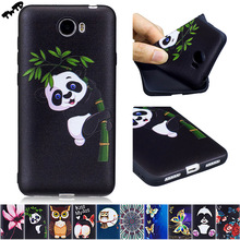 3D Soft Silicone Case for Huawei Y5 Y 5 ll Y5ll CUN-L21 CUN-U29 CUN-L01 Phone Fitted Case for Huawei CUN L21 U29 TPU Frame Cover