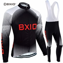 Bxio Long Sleeve Cycling Sets Winter Cycling Clothing Portugal Jersey Hot Maillot Ciclismo Mujer Uniforme Ciclismo BX-0109H057(China)